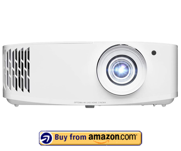 Optoma UHD50X - Best 4K Projector For Outdoor Movies 2021