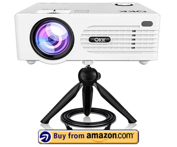 QKK Mini Projector - Best Mini Projector 2021