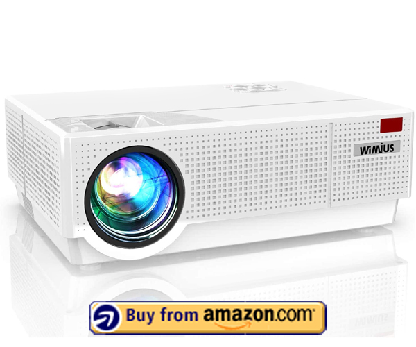 WiMiUS Upgraded P28 - Best Cheap Outdoor Projector 2020