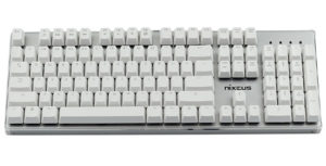 Nixeus Moda Pro Mechanical Switch, Soft Tactile Feedback Keyboard - Wireless Mechanical Keyboards