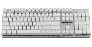 Nixeus Moda Pro Mechanical Switch, Soft Tactile Feedback Keyboard - Wireless Mechanical Keyboards