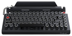 Qwerkywriter Typewriter Wireless Mechanical Keyboard - Wireless Mechanical Keyboards