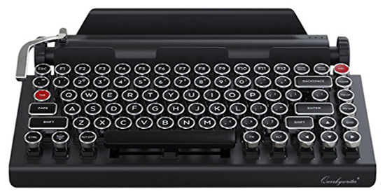 Qwerkywriter Typewriter Wireless Mechanical Keyboard - Wireless Mechanical Keyboard