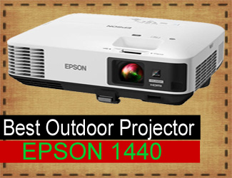 Epson 1440 projector - best outdoor projector 2018