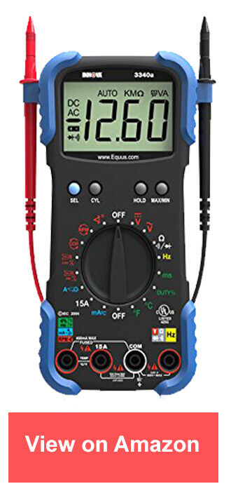 innova 3340 - best multimeter
