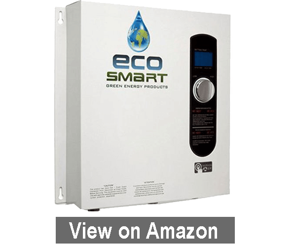 Ecosmart ECO 27 - best electric tankless water heater 2018