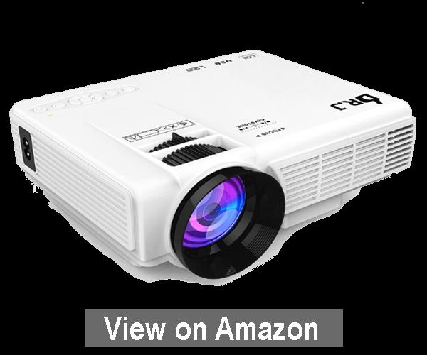 DR.J 1800 Lumens - Best Mini Projector Under $100 2020
