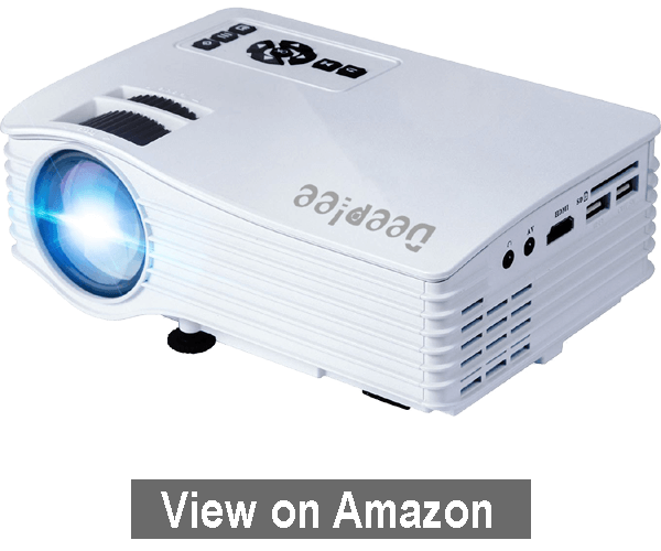 DeepLee DP36 LED Projector - Best Mini Projectors Under $100 2020