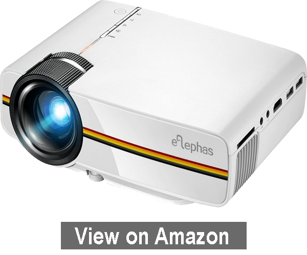 ELEPHAS LED Movie Projector - Best HD Projector Under $100 2020