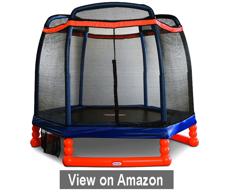 Little Tikes 7 feet Trampoline - best trampoline 2020