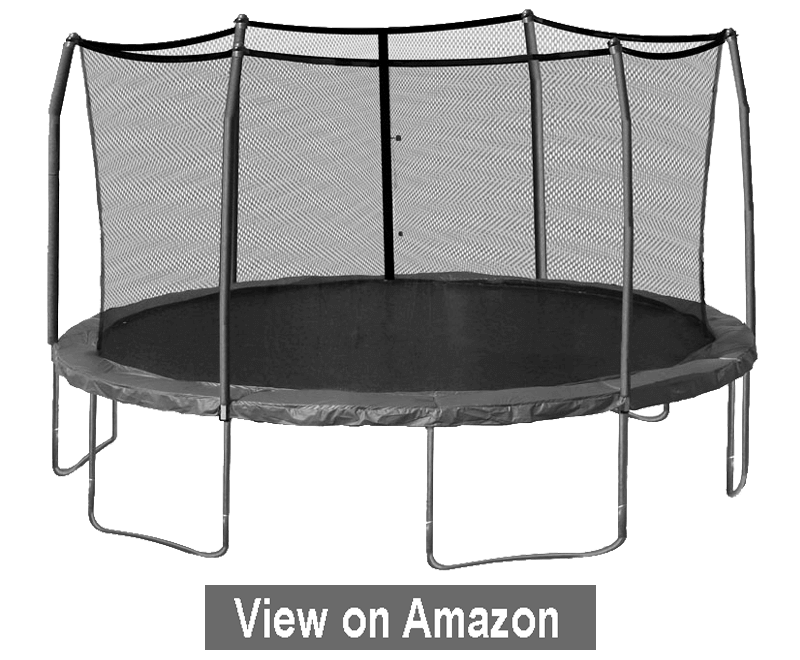 17 x 15-feet Oval Trampoline with Safety Enclosure - Best Trampoline 2020