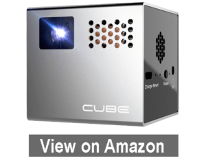 RIF6 CUBE Mobile Pico Projector - best projector under 500 dollars