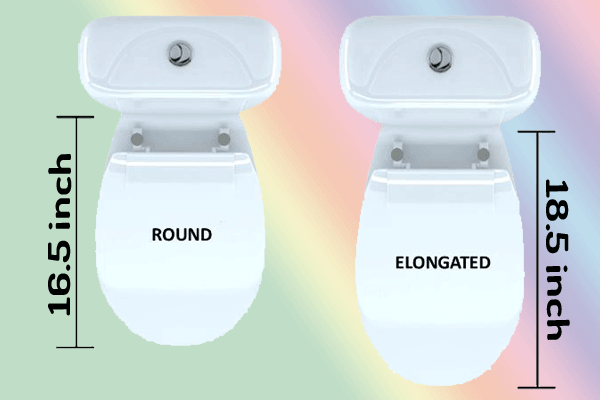 Round Toilet Bowl vs Elongated Toilet Bowl - Best Toilet