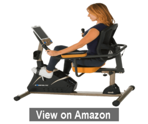 Exerpeutic 4000 Magnetic Recumbent Bike – best recumbent exercise bike