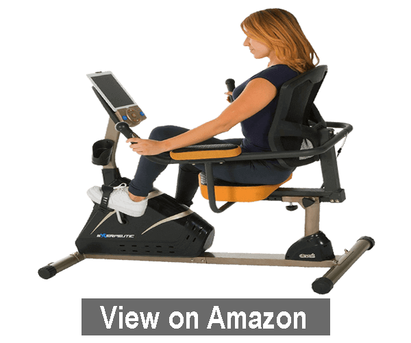 Exerpeutic 4000 Magnetic Recumbent Bike – best recumbent exercise bike 2020