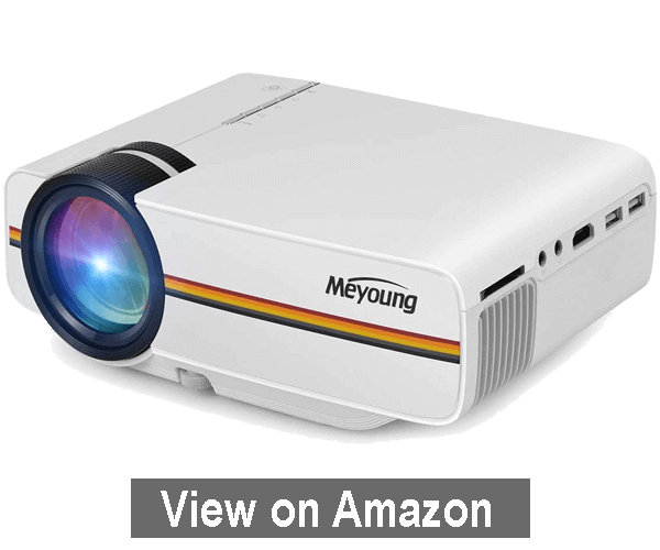 Meyoung TC80 LED Mini Projector - best outdoor movie projector