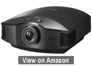 Sony VPLHW45ES 3D SXRD Home Theater - best outdoor movie projector