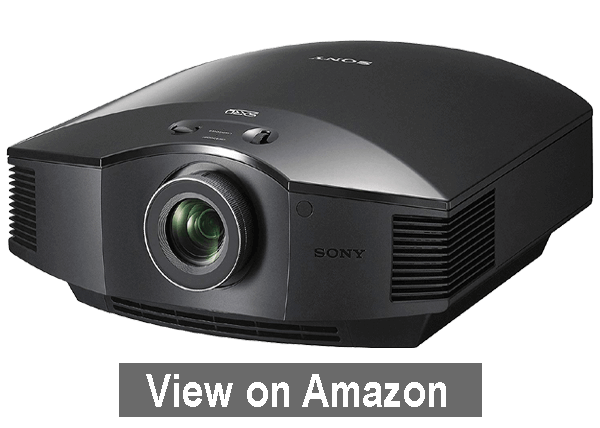 Sony VPLHW45ES 3D SXRD Home Theater - best outdoor movie projector 2020