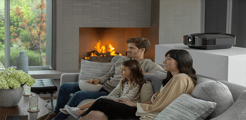 best outdoor movie projector 2021