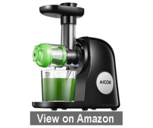 Aicok Slow Masticating Juicer - Best Juicer for Green