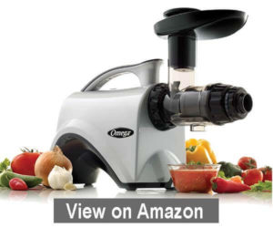 Omega Juicer NC800 HDS Juicer Extractor - Best Juicer for Green