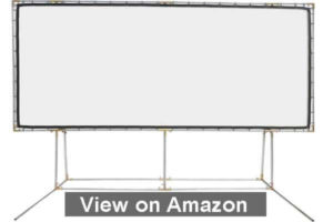 Carls FlexiWhite Standing Projector Screen Kit