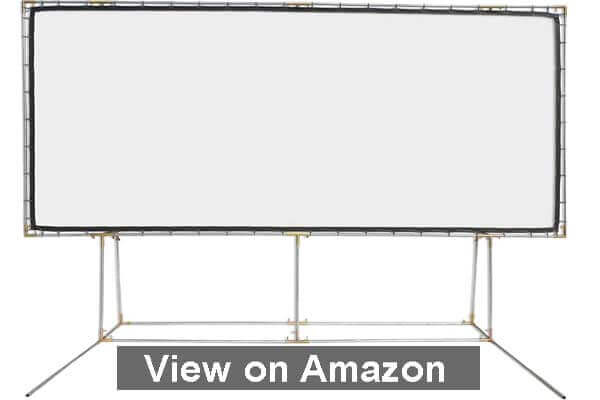Carls FlexiWhite Standing Projector Screen Kit 2020