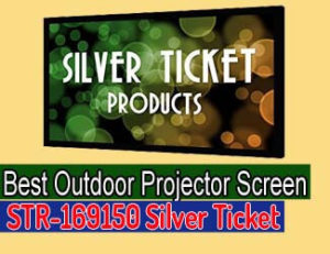 STR-169150 Silver Ticket - best outdoor projector screen 2020