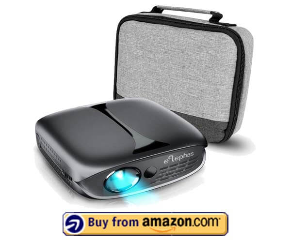 ELEPHAS 100 DLP Portable Projector - Best Pocket Projector Under $200 2020
