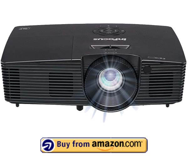 InFocus IN119HDXA Projector - Best Budget Projector Under $1000 2019