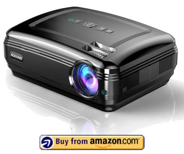 SOLOVE HDMI FULL HD Projector - Best Office Projector 2019