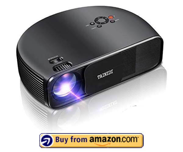 TAINIDI Video Projector - Best LED Projector Under $200 2020