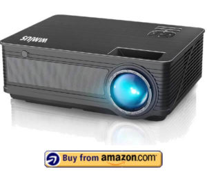 WiMiUS P18 - Best Budget Home Theater Projector 2019