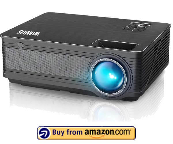 WiMiUS P18 - Best Budget Home Theater Projector 2020