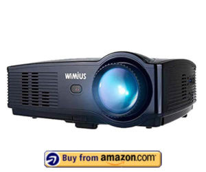 WiMiUS Upgraded T4 - Best Home Theater Projector 2019