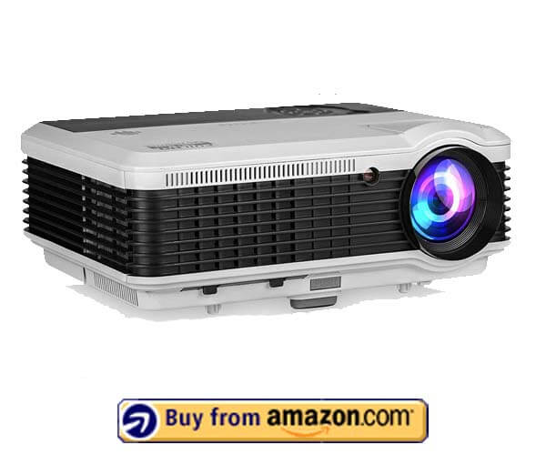 EUG LCD LED Multimedia Video Projector - Best Gaming Projector 2020