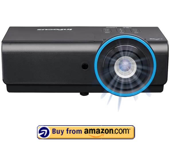 InFocus IN3148HD -Best 3D Network Projector For Church 2021