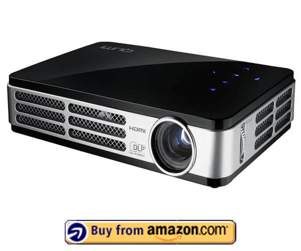 VivitekQumi Q5 500 - Best Portable Projector For Powerpoint Presentations 2020