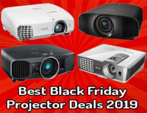 Best black friday projector deals 2019
