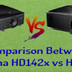 Comparison Between Optoma HD142x vs HD143x
