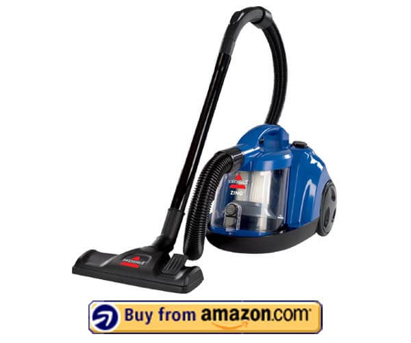 Bissell Zing Bagless Canister Vacuum - Best Bagless Vacuum 2020