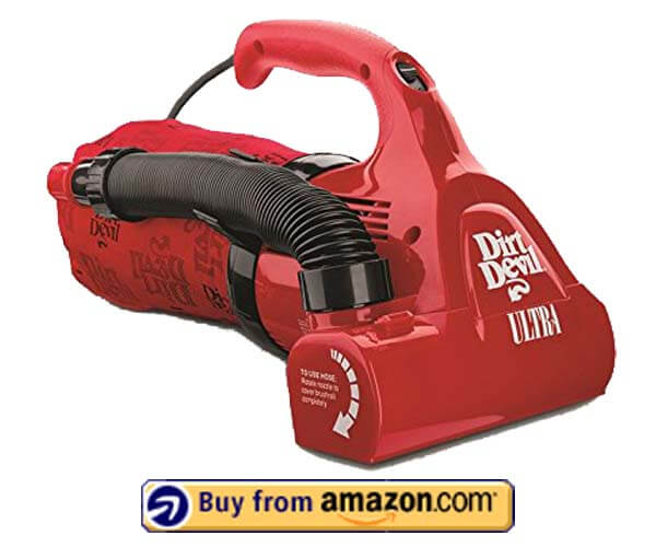 Dirt Devil Hand Vacuum Cleaner - Best Hand Vacuum 2019