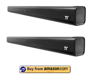 Soundbar, TaoTronics Three Equalizer Mode Audio Speaker