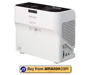 Ricoh PJ WX4130- Best Ultra Short Throw Projector Home Theater 2019