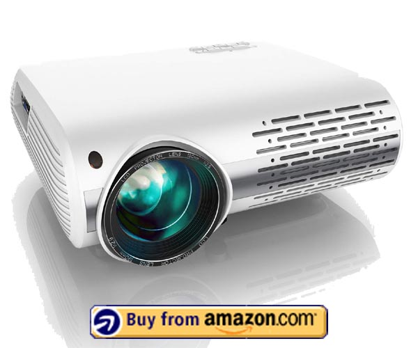 YABER Native 1080P Projector - Cheap Short Throw Projector 2020