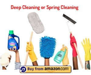 Deep Cleaning or Spring Cleaning