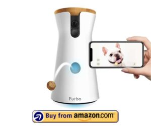 Furbo Dog Camera Treat Tossing, Full HD Wifi Pet Camera