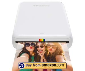 Polaroid ZIP Wireless Mobile Photo Mini Printer (White)