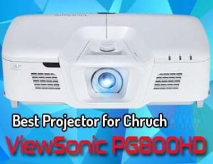 ViewSonic PG800HD - best projector for church 2020