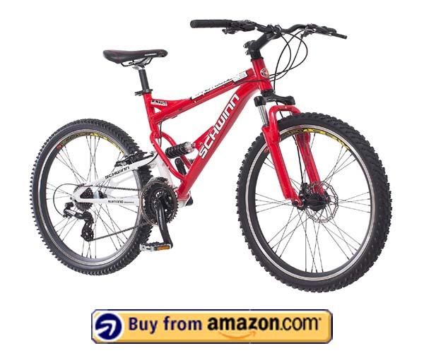 Schwinn Protocol 1.0 Mountain Bike - Best Dual-Suspension Mountain Bike 2020
